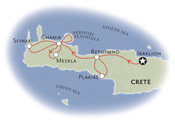 Greece Biking Map
